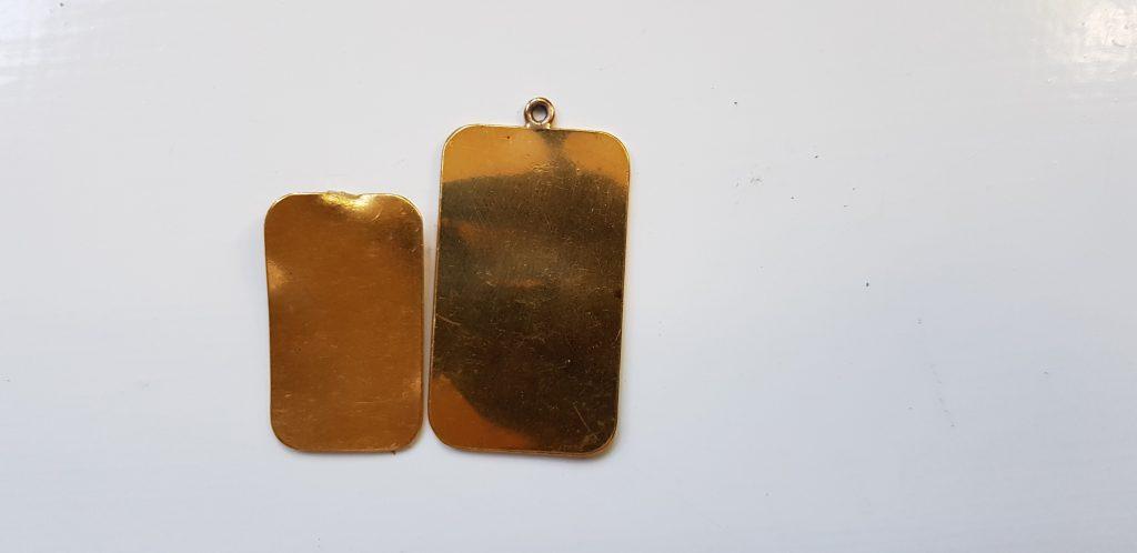 £1318.33 PAID24ct Gold Ingots